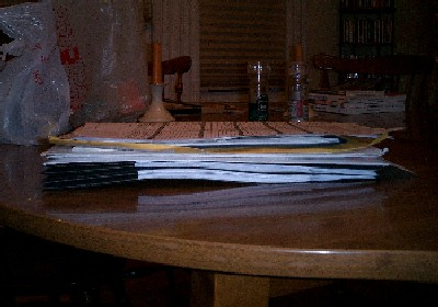 big, freakin' pile o' papers