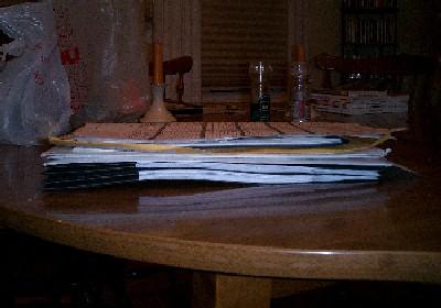 big, freakin' pile o' papers