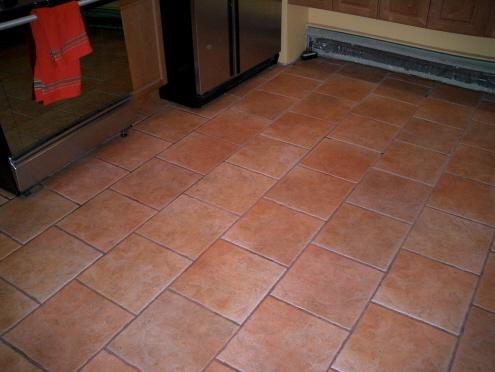 pretty, pretty kitchen floor